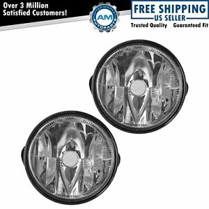 Fog Driving Lights Lamps Pair Set New For Ford Expedition Ranger Pickup Truck