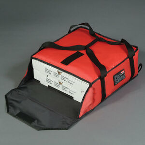 Rubbermaid 9f35 Proserve Pizza Delivery Bag 18 X 18 X 5 1 4 fg9f3500 Red