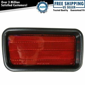 Rear Bumper Reflector Driver Side Left Lh For 00 04 Mitsubishi Montero Sport