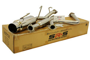Catback Exhaust Si Stainless For 1992 1993 1994 1995 1996 Honda Prelude H22