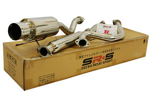 Srs Catback Exhaust System Acura Integra Gs Rs Ls 94 95 96 97 98 99 00 01 2 Dr