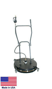 Pressure Washer Surface Cleaner Commercial 24 Cleaning Area 4 To 10 Gpm