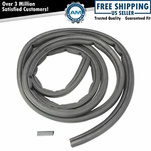 Front Door Rubber Weatherstrip Seal Left Or Right For Dodge Ram Pickup Truck
