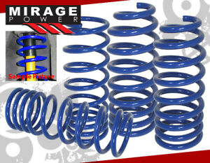 2008 2011 Honda Accord Lx Ex Acura Tsx Cu2 Race Lowering Suspension Spring Blue