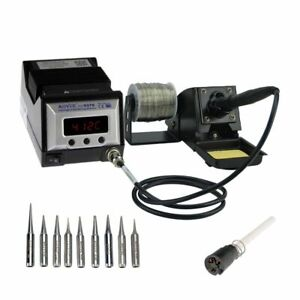 Aoyue 9378 Pro 60 Watt Programmable Digital Soldering Station esd Safe Includes