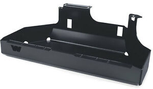 Warn Fuel Tank Skid Plate Black For 1997 2006 Jeep Wrangler Tj Lj Unlimited
