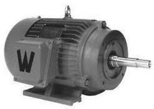 Weg Fan Cooled Electric Motor 1800rpm 60hp 326jm 230 460