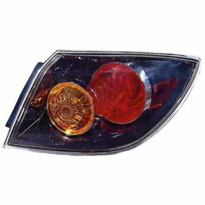 Tail Light Lamp R Rh Right Passenger For Mazda 3 Hatchback