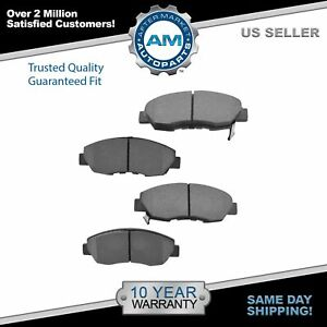 Front Semi Metallic Disc Brake Pad Set For Honda Civic Accord Acura