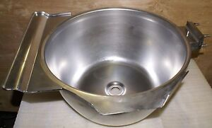 Hobart Hcm 450 Replacement Stainless Bowl Mixer Chopper Hcm Vcm Part 9000 New