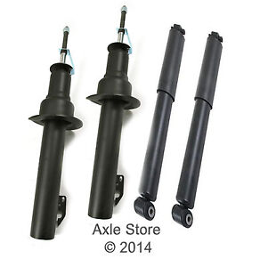 4 New Shocks Struts Full Set Lifetime Warranty Fit Jeep Grand Cherokee Commander