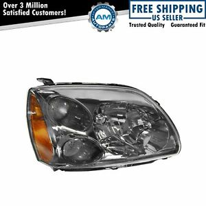 Headlight Headlamp Dark Bezel Halogen Passenger Side For 04 12 Mitsubishi Galant