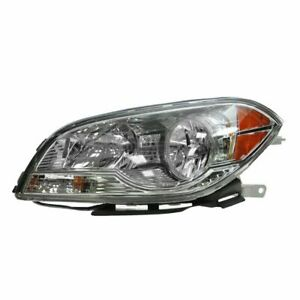 Headlight Headlamp Driver Side Left Lh New For 08 12 Chevy Malibu