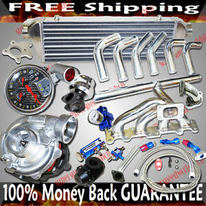 Ss Manifold Turbo Kits T3 Turbo For 2003 2005 Dodge Neon Srt 4 2 4l Dohc Only