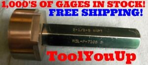 2 1 2 8 Anpt Pipe Thread Plug Gage Smooth 2 500 Metalworking Tooling Machinist
