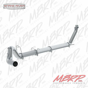 Mbrp 5 Exhaust For 98 02 Dodge Ram Cummins Diesel 5 9l No Muffler Straight Pipe