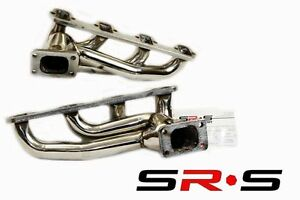Ford Mustang 5 0l V8 T3 T4 Twin Turbo Stainless Steel Turbo Manifold Sr s Tunin