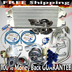 Turbo Kit Twin Gt28 30 Turbo For 90 96 Nissan 300zx Turbo Coupe 2d 3 0l V6 Dohc