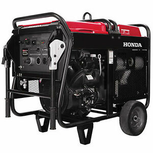 Portable Generator 10 000 Watt 120 240v 20 Hp Elec Start Genuine Honda