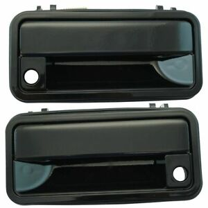 Outer Outside Exterior Door Handle Pair Set Of 2 For Chevy Gmc Pickup Truck