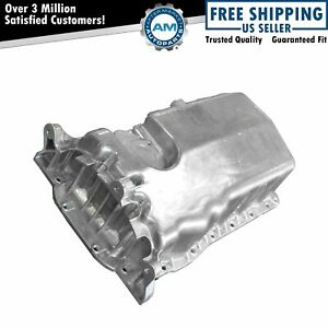 Engine Oil Pan Aluminum New For Vw Beetle Golf Jetta