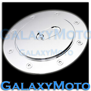 11 13 Ford Explorer Triple Chrome Plated Abs Fuel Gas Cap Door Cover 2013