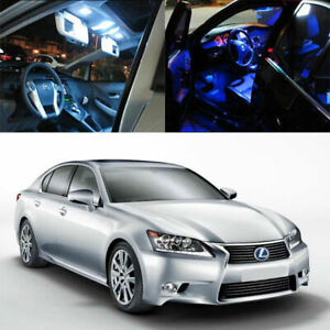 7 light Smd Full Led Interior Lights Package Deal For 2013 up Lexus Gs350 Gs450h