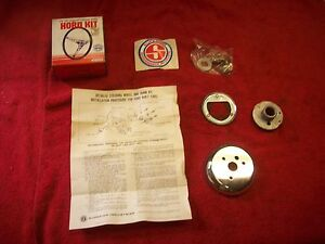 Vintage Nos Superior Steering Wheel Adapter Kit 1949 57 Ford Except T Bird