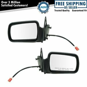 Power Side View Mirrors Left Right Pair Set For 93 95 Grand Cherokee
