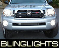 2005 2010 Toyota Tacoma White Halo Fog Lights Lamps Angel Eyes 07 08 09 10 Kit