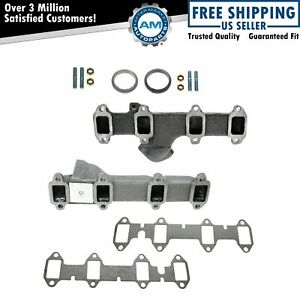 Dorman 674 240 674 241 Exhaust Manifold Pair Left Right For Ford Truck 360 390