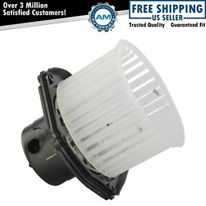 Heater Blower Motor W Fan Cage For Chevy Gmc Cadillac Pickup Truck