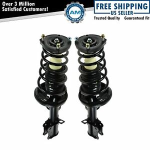 Rear Quick Loaded Complete Struts Spring Assembly Pair Set For Corolla Prizm New