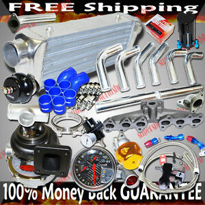 Upgrade T4 Turbo Kit For 92 99 Lexus Sc300 Toyota Supra 2jz gte
