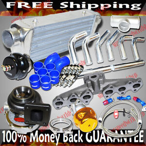T4 Cast Manifold Turbo Kits For 93 98 Toyota Supra 3 0l 2997cc Dohc 2jz gte Only