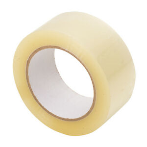 Carton Sealing Packing Tape 2 X 110 Yards 330 Ft 2 5 Mil Clear 12 Rolls