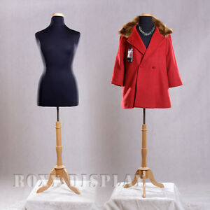 Female Size 14 16 Mannequin Manequin Manikin Dress Form f14 16bk bs 01nx