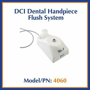Dci Dental Highspeed Handpiece Lubricating Flush Purge System Kavo W