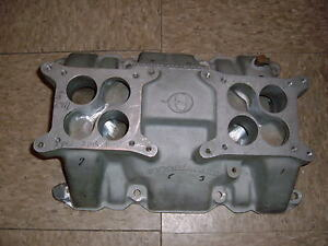 Buick Nailhead Offy Offenhauser Intake Manifold Repair 264 322 364 401 425