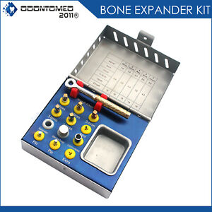 Dental Bone Expander Kit Sinus Lift With Surgical Implant Instruments