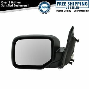 Power Heated Smooth Mirror Driver Side Left Hand Lh For 09 13 Honda Pilot