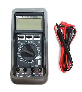 Pocket Digital Multimeter Yf 78 Capacitance 1pf 2000uf Inductance 1uh 20h Meter