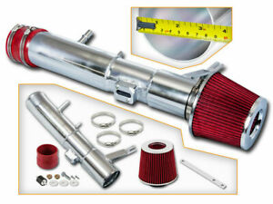 Bcp Red 11 14 Mustang V6 3 7l Cold Air Intake Racing System Filter