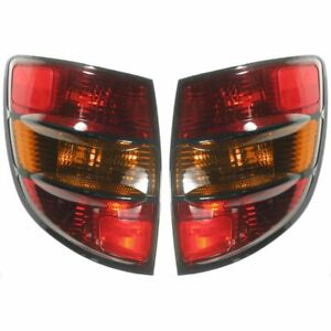Rear Brake Taillight Taillamp Rh Right Lh Left Pair Set Kit For 03 08 Vibe