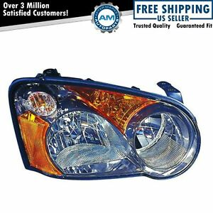 Headlight Headlamp Light Lamp Right Hand Passenger Side Rh For 04 Subaru Impreza
