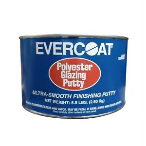 5 5 Lb Evercoat Polyester Glazing Auto Body Putty 407 Ultra Smooth Finishing