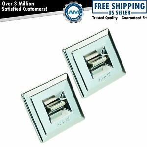 Power Door Lock Switch Bezel Pair Set For Buick Cadillac Chevy Gmc Old Pontiac