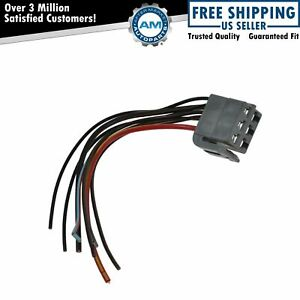 Headlight Lamp Switch Electrical Connector W Wiring Pigtail For 87 93 Mustang