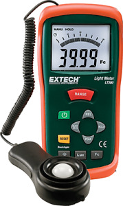 Extech Lt300 Digital Light Meter 20 000 Fc 200 000 Lux