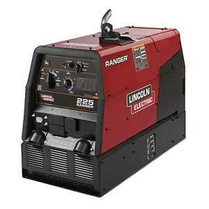 Lincoln Ranger 225 Engine Welder Generator k2857 1